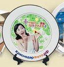 Сувенирная тарелка с фото и надписями