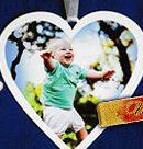 Брелоки, метрики, подвески в форме сердца с фото и надписями