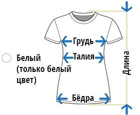 Печать на женских футболках. Краснодар