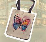 Новый сувенир - фото и надписи на сумке-шоппере